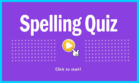 Online Spelling Quiz